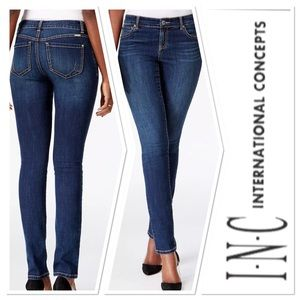 INC International Concepts RegularFit Skinny EUC
